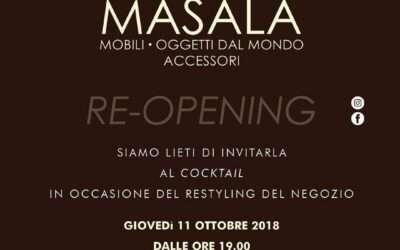 RE-OPENING MASALA